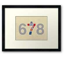 Prime Number Framed Print