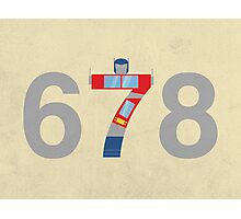 Prime Number Photographic Print