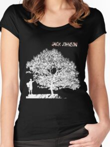 Jack Johnson Tee Women's Fitted Scoop T-Shirt