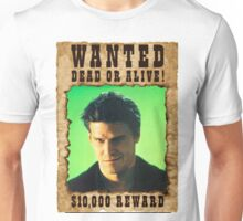 Buffy Angelus David Boreanaz Wanted Unisex T-Shirt
