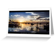 Hastings River - Port Macquarie Greeting Card