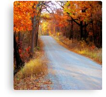 Fall in Oklahoma Canvas Print