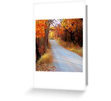Fall in Oklahoma Greeting Card