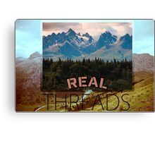 Moutains within Moutains Canvas Print