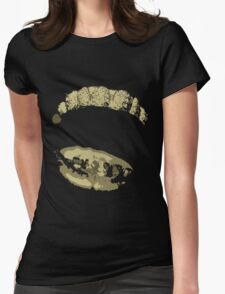 Gold Grillz Womens Fitted T-Shirt