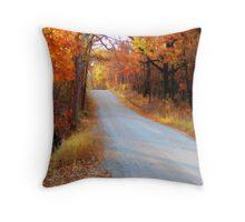Fall in Oklahoma Throw Pillow