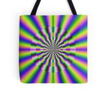 Psychedelic Circular Deviation Tote Bag