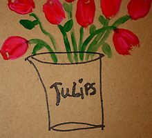 Tulips by Kate Delancel
