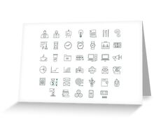 icons_office Greeting Card