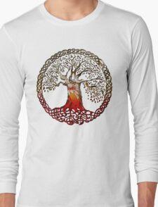 TREE OF LIFE - blood daisies Long Sleeve T-Shirt