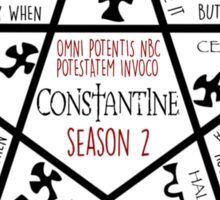 Summon a Constantine Season 2 Sticker