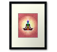 Chakra Meditation Print Framed Print