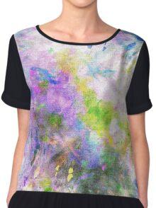 Colour Splash Chiffon Top