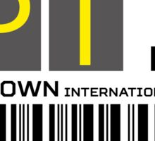 Destination Cape Town Airport Sticker