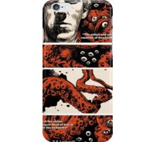 Howard Philips Lovecraft Halloween iPhone Case/Skin