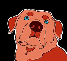 Dramatic Lab in Red by oliveriley