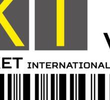 Destination Phuket Airport Sticker