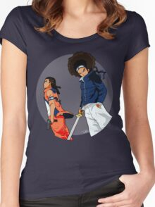 Huey & Riley: The Ninja Way (redesign) Women's Fitted Scoop T-Shirt