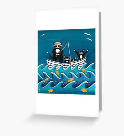 Fishing Trip with Dad Greeting Card