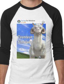 Tauntaun Simulator Men's Baseball ¾ T-Shirt