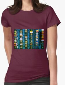 Vintage electronic board Womens Fitted T-Shirt