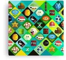 Super Mario -  Videogame Canvas Print