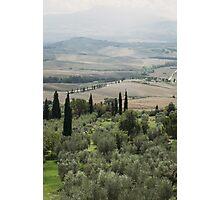 tuscany landscape Photographic Print