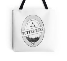BUTTERBEER - Hogsmede Brew White Label  Tote Bag