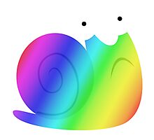 MLP - Cutie Mark Rainbow Special – Snails V2 Photographic Print