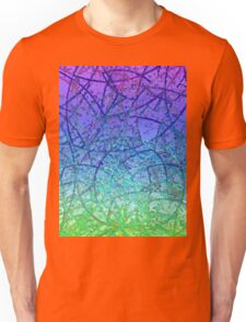 Grunge Art Abstract  Unisex T-Shirt