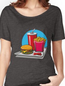 Fast food! Do you like it? Women's Relaxed Fit T-Shirt