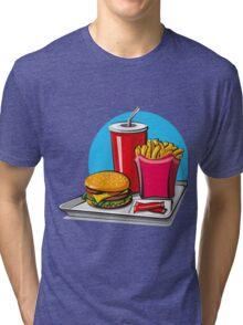 Fast food! Do you like it? Tri-blend T-Shirt