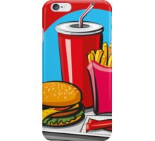 Fast food! Do you like it? iPhone Case/Skin