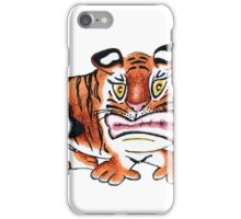 Sulking Tiger iPhone Case/Skin