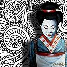Geisha in Patterns by Cherie Roe Dirksen