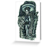The Gatekeeper Greeting Card