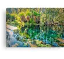 Korran Bitter Springs Canvas Print