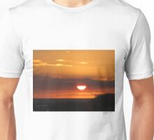 Orange Sunset Unisex T-Shirt