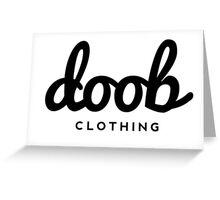 Doob Clothing Greeting Card