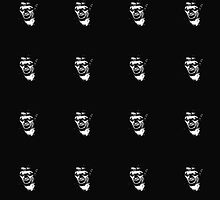 EVIL ASH TILED TOTE by Austin Toebosch