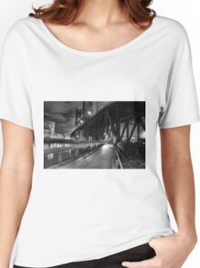 Portland Oregon at night Women's Relaxed Fit T-Shirt