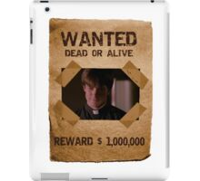 Buffy Caleb Nathan Fillion Wanted 1 iPad Case/Skin