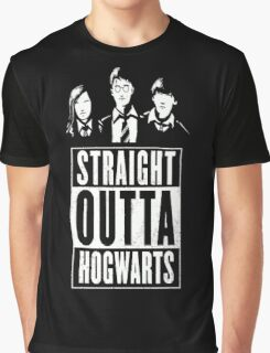 Harry Potter - Hogwarts Graphic T-Shirt