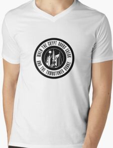 HM1CryptDoors Mens V-Neck T-Shirt