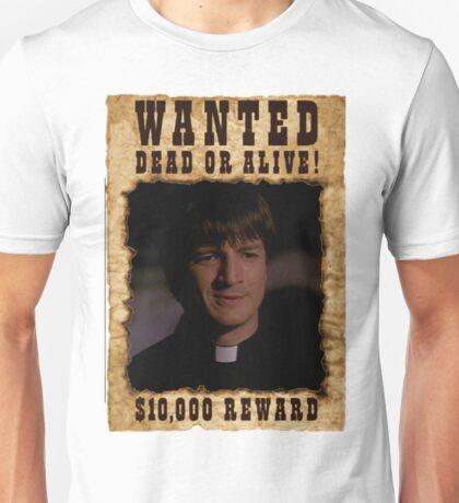 Buffy Caleb Nathan Fillion Wanted 2 Unisex T-Shirt
