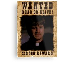 Buffy Caleb Nathan Fillion Wanted 2 Metal Print