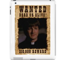 Buffy Caleb Nathan Fillion Wanted 2 iPad Case/Skin