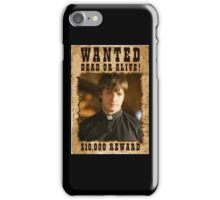 Buffy Caleb Nathan Fillion Wanted 3 iPhone Case/Skin