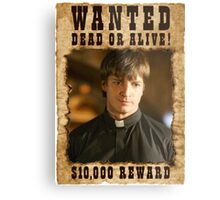 Buffy Caleb Nathan Fillion Wanted 3 Metal Print