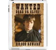 Buffy Caleb Nathan Fillion Wanted 3 iPad Case/Skin